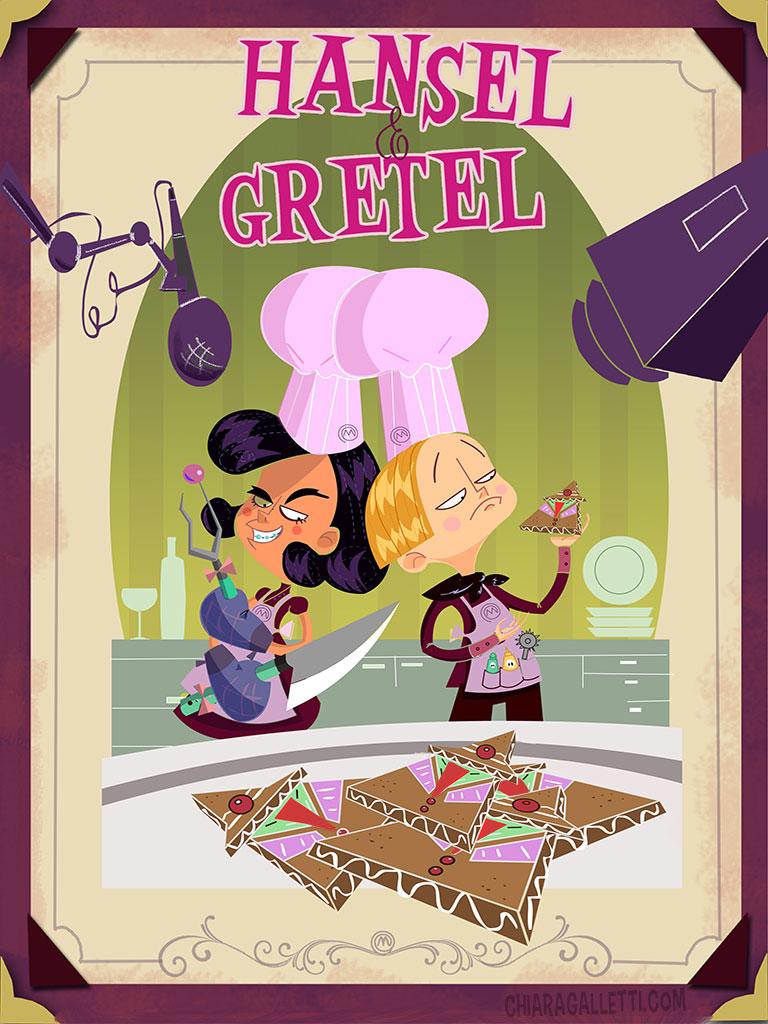Hansel & Gretel - Modern times 1